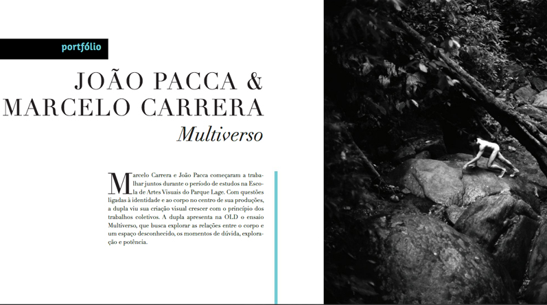 Marcelo Carrera e João Pacca na Revista Old #64