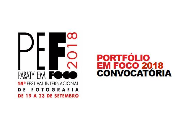 Convocatória  Festival Internacional Paraty em Foco 2018.